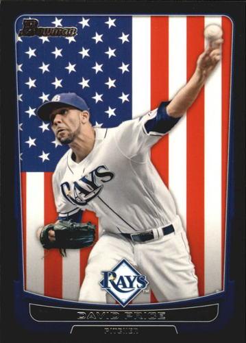 Photo of 2012 Bowman International #181 David Price -- Red Sox post-season