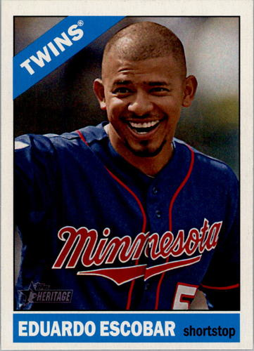 Photo of 2015 Topps Heritage #89 Eduardo Escobar