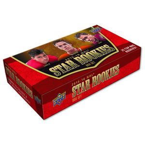 2015-16 Upper Deck NHL Star Rookies Box Set