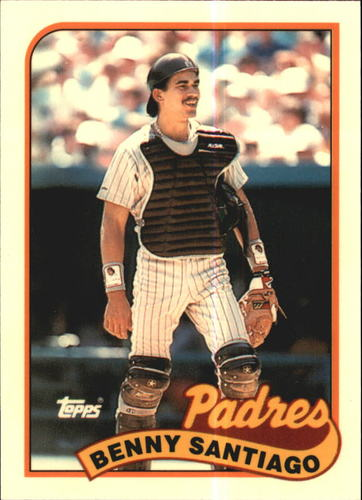 Photo of 1989 Topps Tiffany #256 Benny Santiago