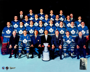 Toronto Maple Leafs 1967 Stanley Cup Champions Hockey Hall Of Fame Collection 8x10 Photo