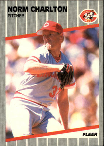 Photo of 1989 Fleer #155 Norm Charlton RC
