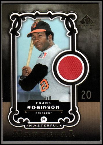 Photo of 2007 SP Legendary Cuts Masterful Materials #FR Frank Robinson