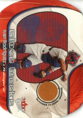 Photo of 2002 Ultra Glove Works Memorabilia #11 Ivan Rodriguez/450