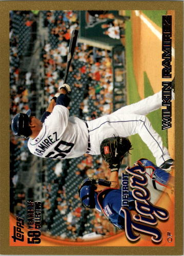 Photo of 2010 Topps Gold Border #119 Wilkin Ramirez