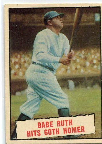 Photo of 1961 Topps #401 Babe Ruth 60th HR