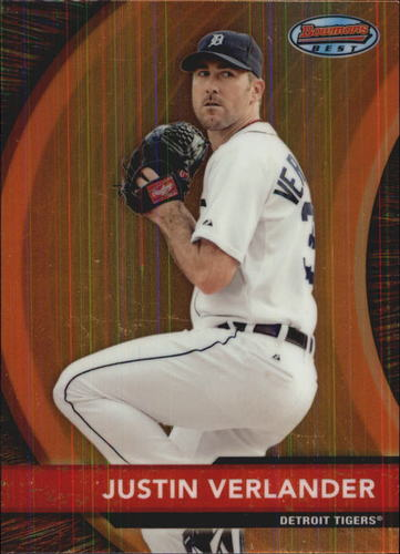 Photo of 2012 Bowman Bowman's Best #BB16 Justin Verlander -- Astros post-season