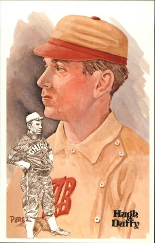 Photo of 1980-02 Perez-Steele Hall of Fame Postcards #34 Hugh Duffy -- Set #08689