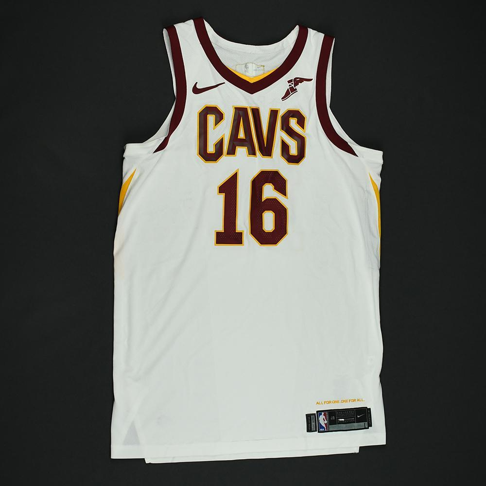 Cedi Osman - Cleveland Cavaliers - 2018 NBA Finals - Game 2 - Game-Worn White Jersey