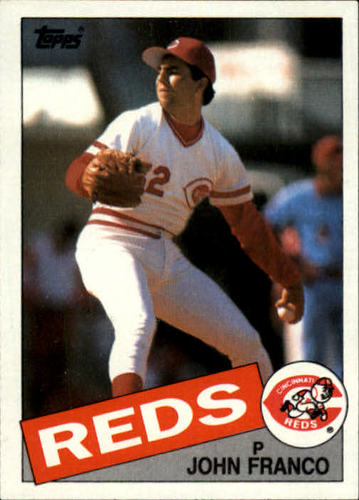 Photo of 1985 Topps #417 John Franco RC