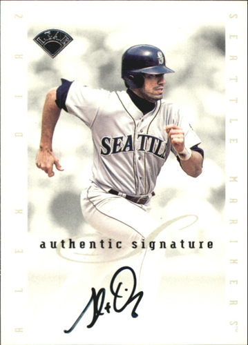 Photo of 1996 Leaf Signature Extended Autographs #43 Alex Diaz