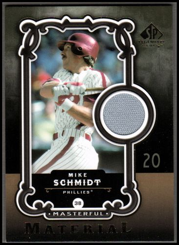 Photo of 2007 SP Legendary Cuts Masterful Materials #MS Mike Schmidt