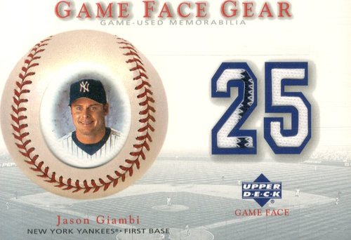 Photo of 2003 Upper Deck Game Face Gear #JG Juan Gonzalez