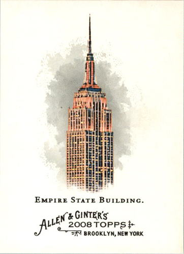 Photo of 2008 Topps Allen and Ginter #29 Empire State Building