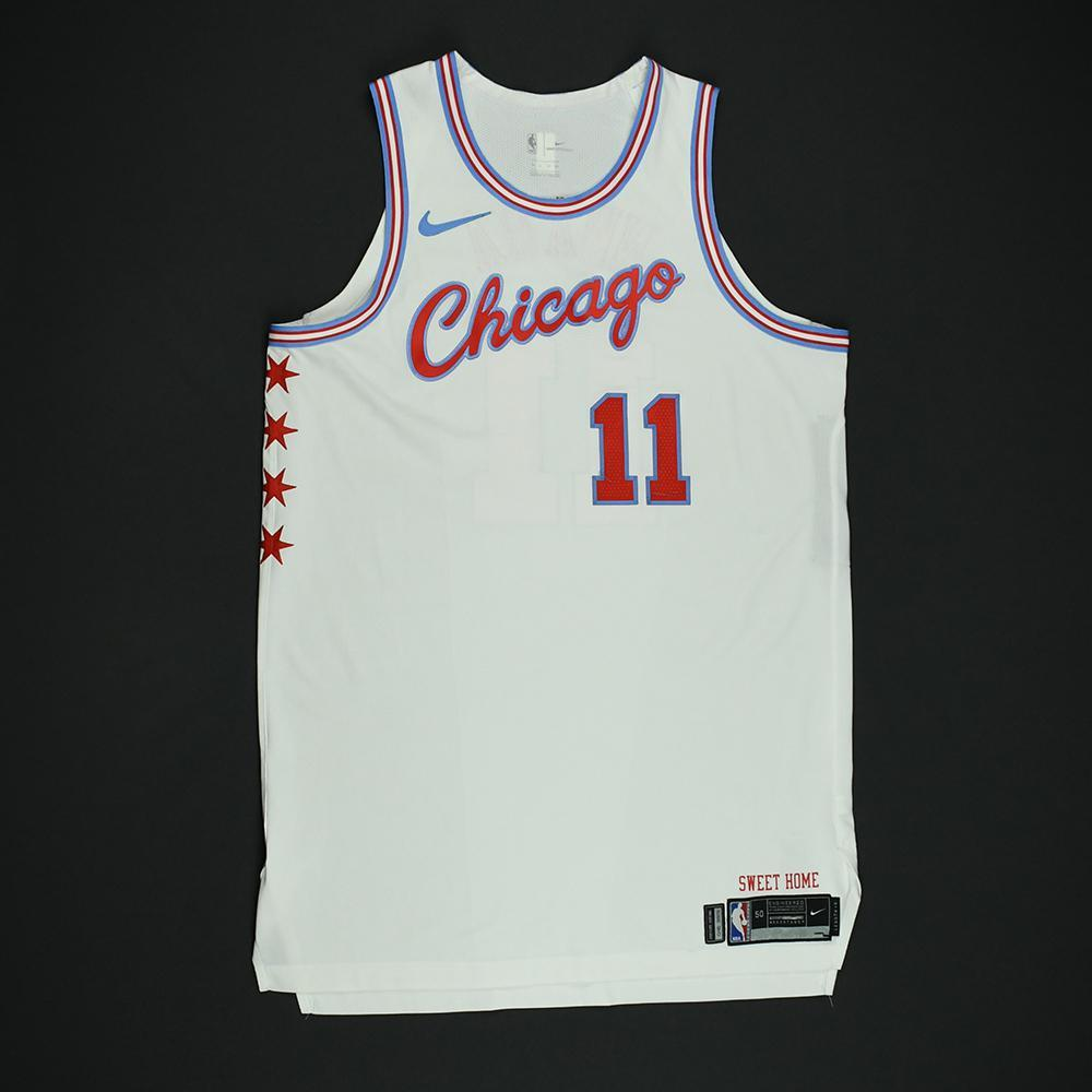 David Nwaba - Chicago Bulls - Game-Worn 'City' Jersey - 2017-18 Season