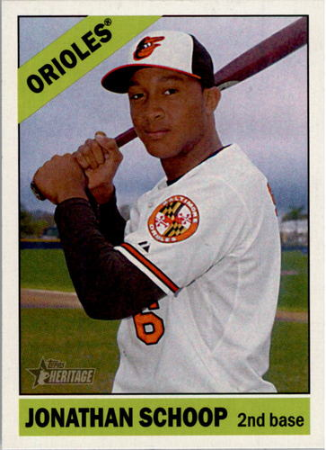 Photo of 2015 Topps Heritage #90A Jonathan Schoop