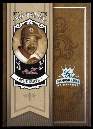 Photo of 2005 Diamond Kings HOF Heroes Silver #47 Ozzie Smith