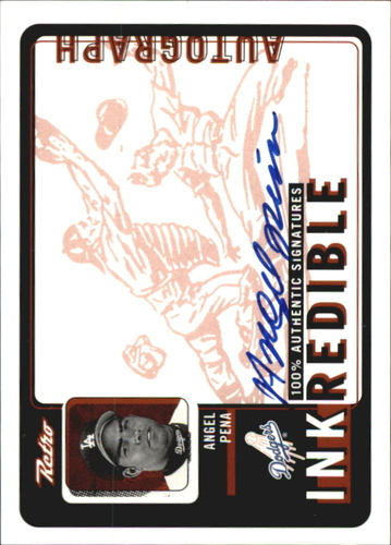 Photo of 1999 Upper Deck Retro Inkredible #AP Angel Pena