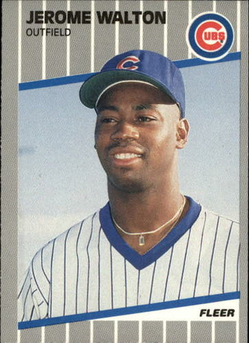 Photo of 1989 Fleer Update #80 Jerome Walton RC
