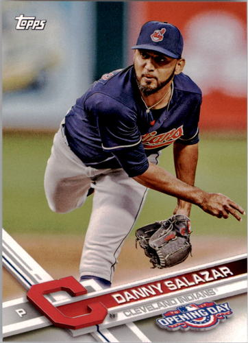 Photo of 2017 Topps Opening Day #44 Danny Salazar