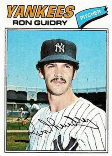 Photo of 1977 Topps #656 Ron Guidry