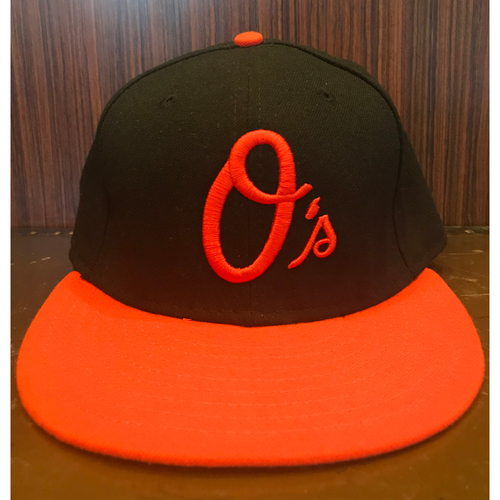 Mark Trumbo - Hat: Team-Issued