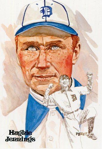 Photo of 1980-02 Perez-Steele Hall of Fame Postcards #35 Hughie Jennings -- Set #08689