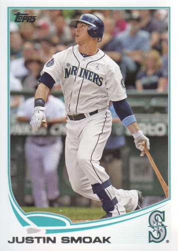 Photo of 2013 Topps #512 Justin Smoak