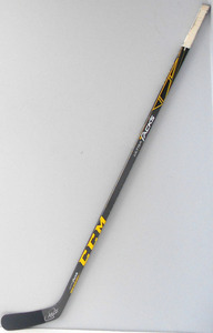 #65 Andrew Shaw Game Game Used Stick - Autographed - Chicago Blackhawks