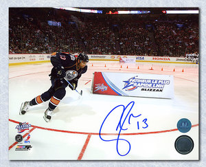ANDREW COGLIANO 2009 All Star Game Autographed Fastest Skater 8x10 Photo *Anaheim Ducks*