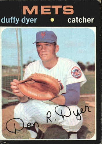 Photo of 1971 Topps #136 Duffy Dyer