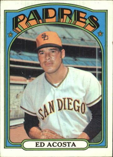 Photo of 1972 Topps #123 Ed Acosta