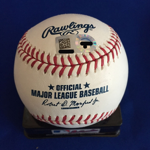 Photo of UMPS CARE AUCTION: Michael Brantley Signed Baseball