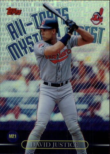 Photo of 1999 Topps All-Topps Mystery Finest Refractors #M21 Dave Justice