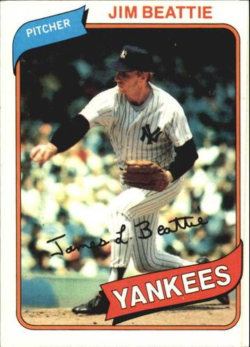 Photo of 1980 Topps #334 Jim Beattie