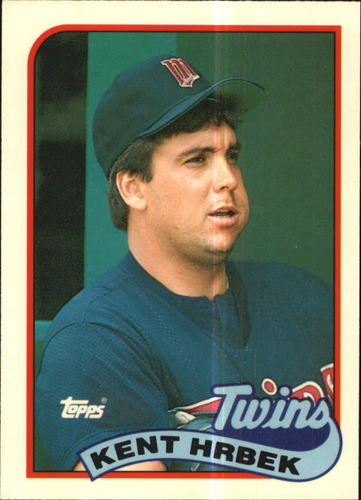 Photo of 1989 Topps Tiffany #265 Kent Hrbek