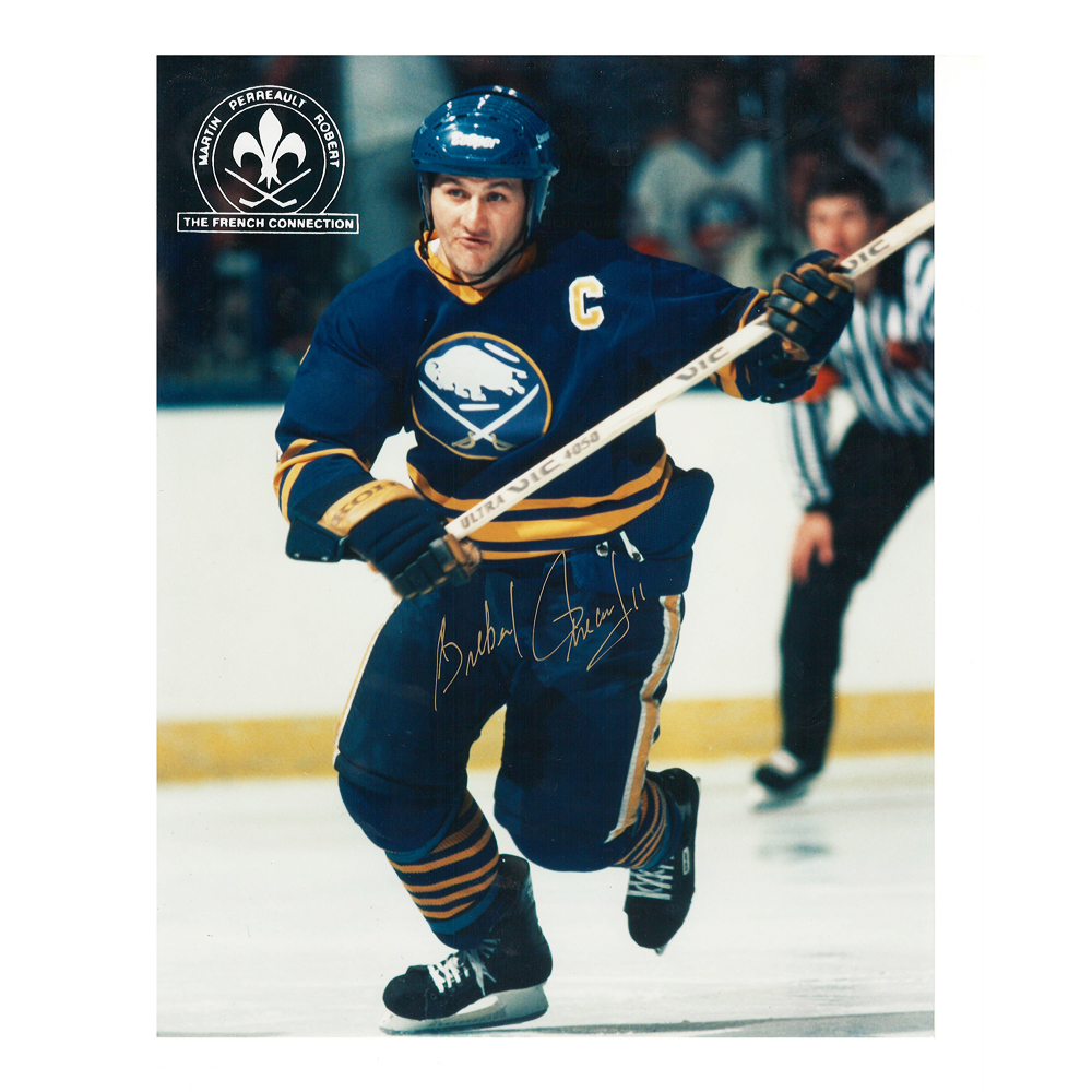GILBERT PERREAULT Signed Buffalo Sabres