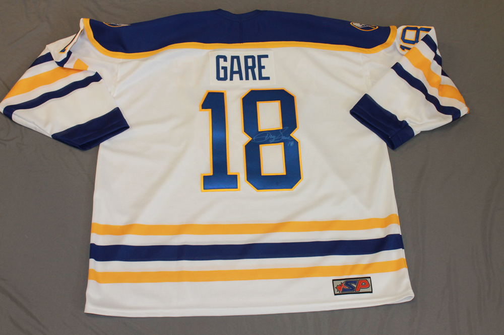 Danny Gare Autographed Buffalo Sabres Breast Cancer Awareness Jersey