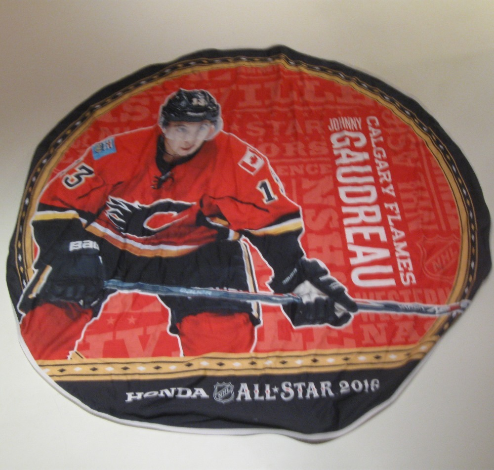 2016 NHL All-Star Game Banner Featuring Johnny Gaudreau (Calgary Flames)