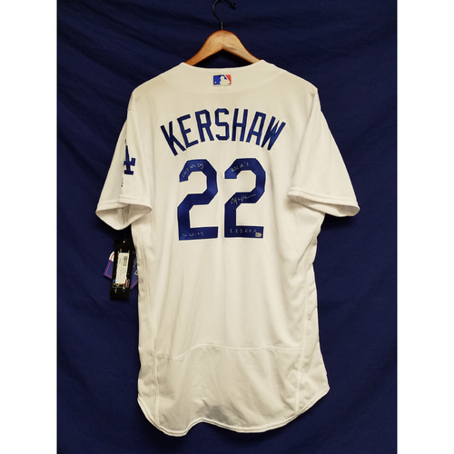 Photo of Kershaw's Challenge: Clayton Kershaw 2013 Autographed Home Jersey