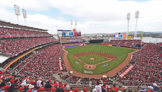 CINCINNATI REDS GAME: 5/17 VS. LOS ANGELES (2 GAME TICKETS + PARKING)
