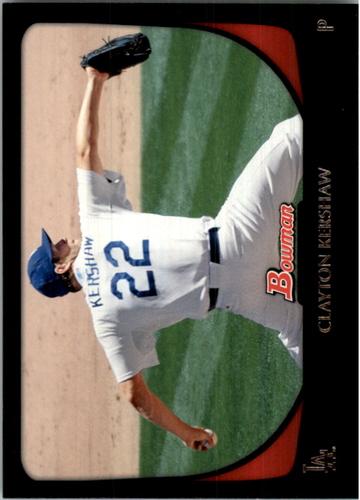 Photo of 2011 Bowman #65 Clayton Kershaw