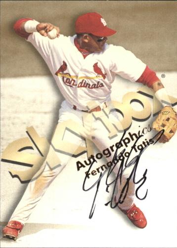 Photo of 1999 SkyBox Premium Autographics #49 Fernando Tatis