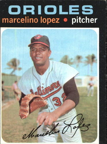 Photo of 1971 Topps #137 Marcelino Lopez