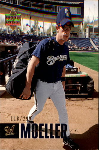 Photo of 2006 Upper Deck Gold #685 Chad Moeller /299
