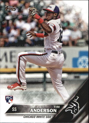 Photo of 2016 Topps Update #US287A Tim Anderson RC