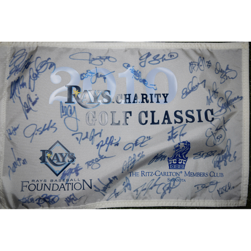 Photo of Team Signed Flag: 2010 and 2011