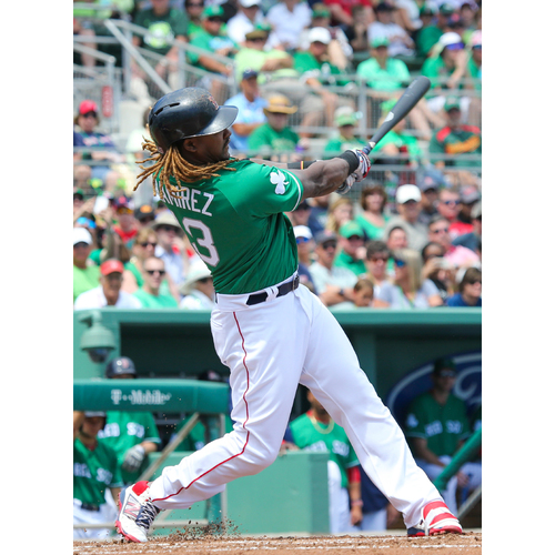 Photo of Red Sox Foundation St. Patrick's Day Jersey Auction - Hanley Ramirez Game-Used & Autographed Jersey