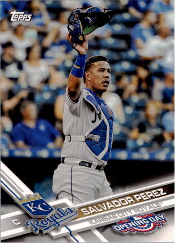 Photo of 2017 Topps Opening Day #23A Salvador Perez