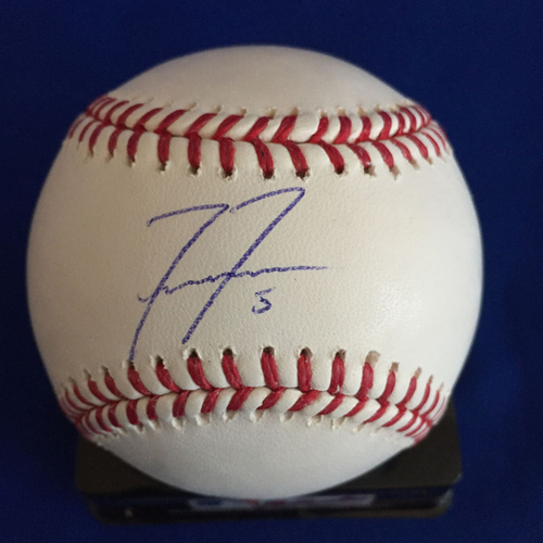 Photo of UMPS CARE AUCTION: Freddie Freeman Signed Baseball